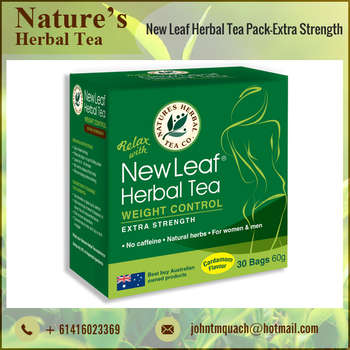 Standard Quality Herbal Slim Fit Tea with High Nutritional Value