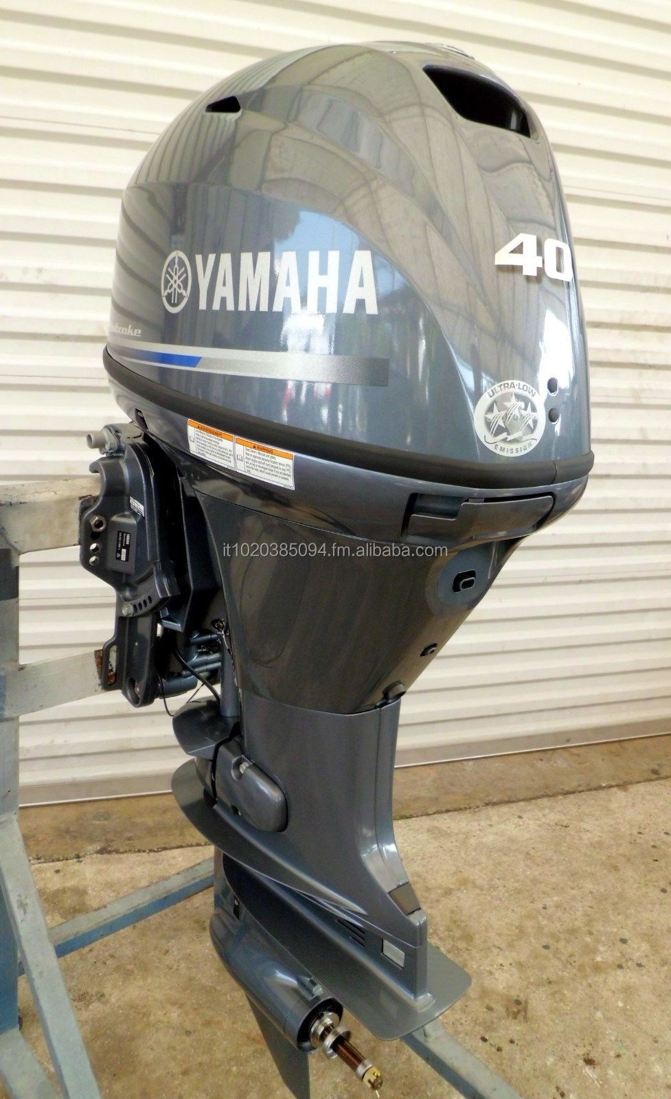 USED Y-A-M-A-H-A 40 HP 4 STROKE OUT BOARD MOTOR