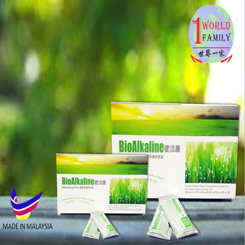BioAlkaline protect against developing infections
