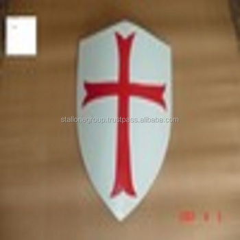 Crusader's Red Cross Shield 13th Century