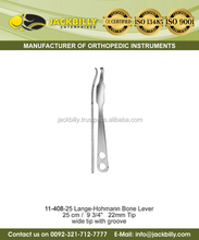 Lange Hohmann Bone Lever 25 cm 22 mm Tip Wide Tip with Groove/ Orthopedic Bone Levers/ Orthopedic Surgical Instruments