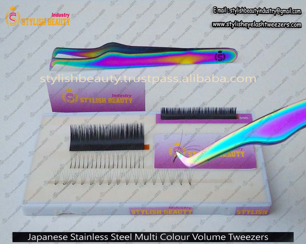New Volume Eyelash Tweezer . very easy to usefull / Tweezers Are High Precision From Stylish Beauty Industry
