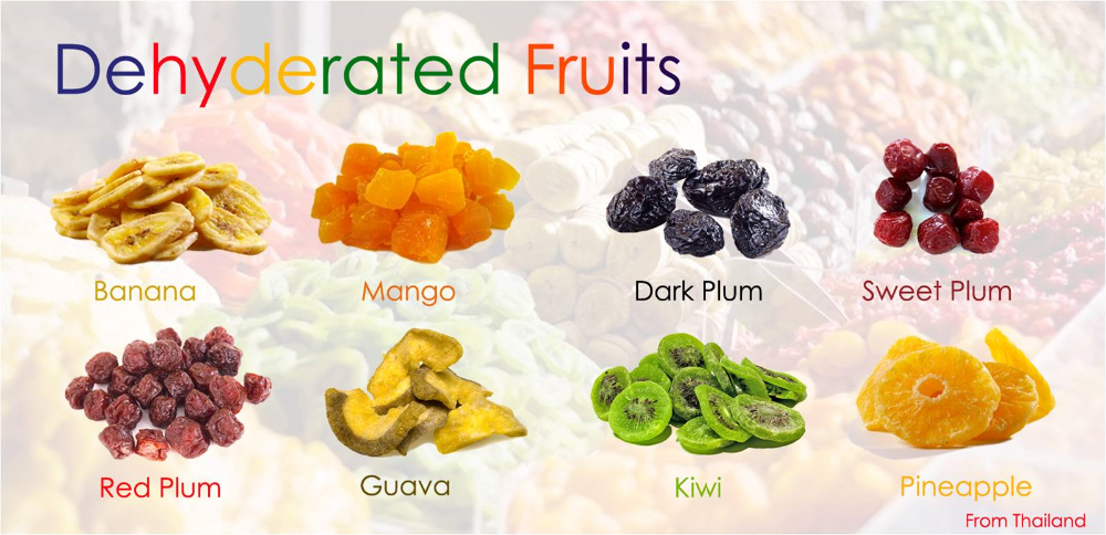 dehyderated fruits