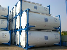 Used, Cargo-Worthy 20ft ISO IMO-1Tank Containers for Chemical (Hazardous Liquids) Transportation