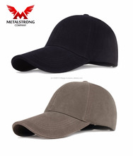 Custom Made Polyester Baseball Caps Polo Style Plain Solid Hat Adjustable