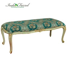 High Quality Antique Mahogany Sofa Bench Chair with spring Living Room Furniture