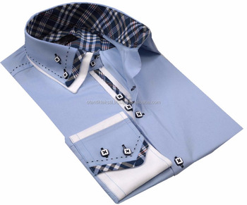 Blue Dress shirt Slim fit shirt, slim-fit shirt, Dress shirt, Shirt, men shirt,