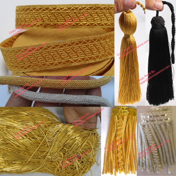 church vestments Fringes Galloons Tassels and Trim Cord Fine trimmings