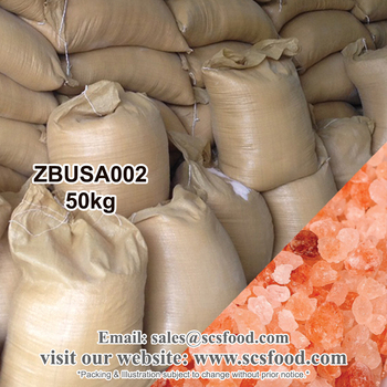 50kg Natural Leaf Himalaya Pink Rock Salt (Organic Salt) (Coarse Salt)