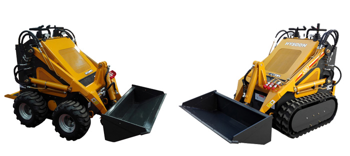 skid steer loader mini earth moving equipment