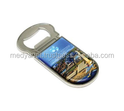 Custom Design Bottle Opener Souvenir Tourist Refrigerator Fridge Magnet