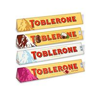 Chocolate Toblerone Mini White Chocolate, Dark Chocolate ,Milk Flavours 200 g