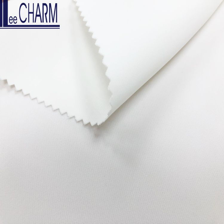 LCL076 Taiwan Quality Heavy Soft Polyester Stretch Charmeuse Satin Fabric