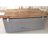 Indian Furniture Factory Industrial Vintage Storage Blanket Trunk Box