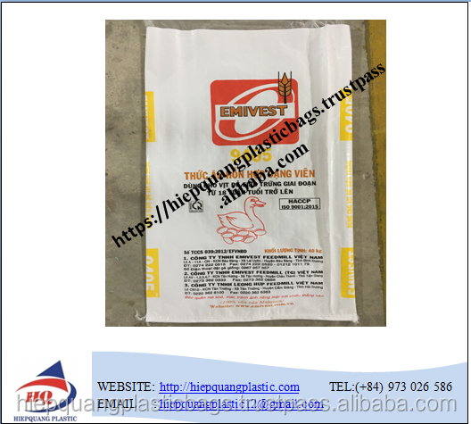 Laminated PP Woven Bags of 25kg, 40kg, 50 kg for rice, flour ,wheat ,grain ,agriculture product