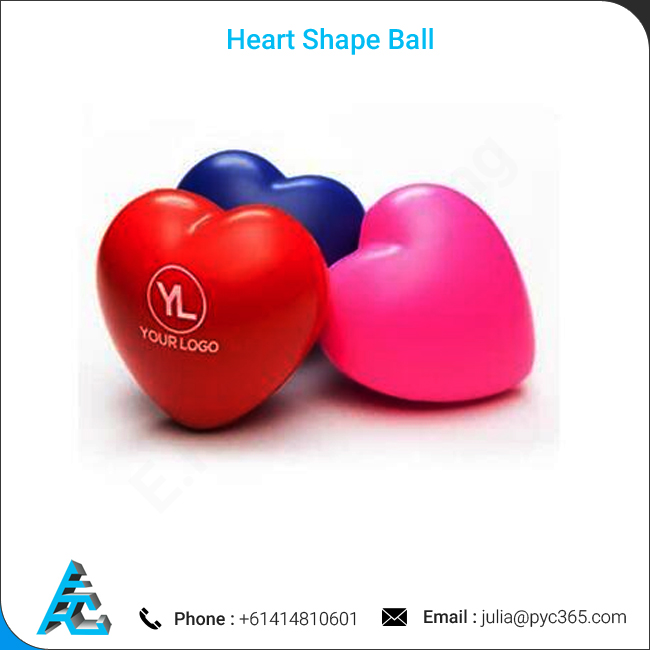 Message Spreading Stress Relieving Heart Shape Ball