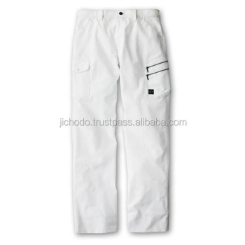 Work wear pocket pockets pants ( flat front ) for spring and summer. Made by Japan.
