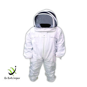 BeeKeeping, BeeKeeper 100% Cotton Suits With Fencing Veil