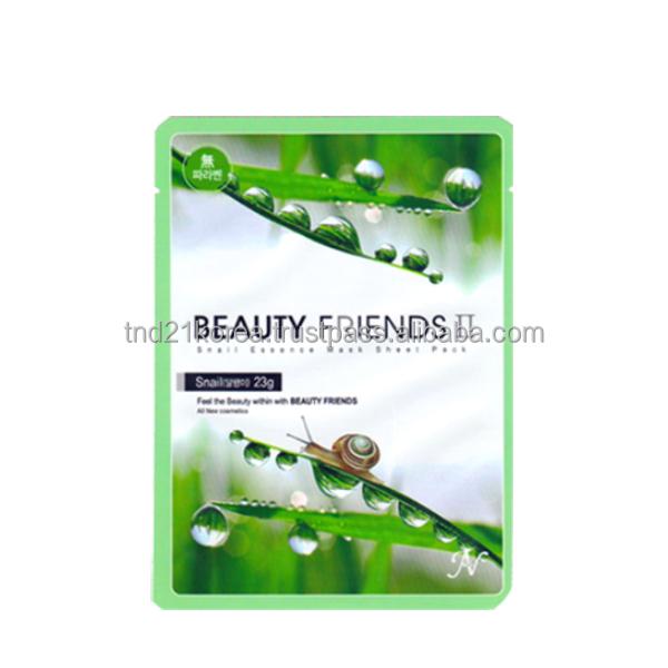 Beauty Friends Snail Essence Mask Sheet