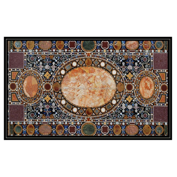 Marble Dining Table Top Inlay Dessigning Art