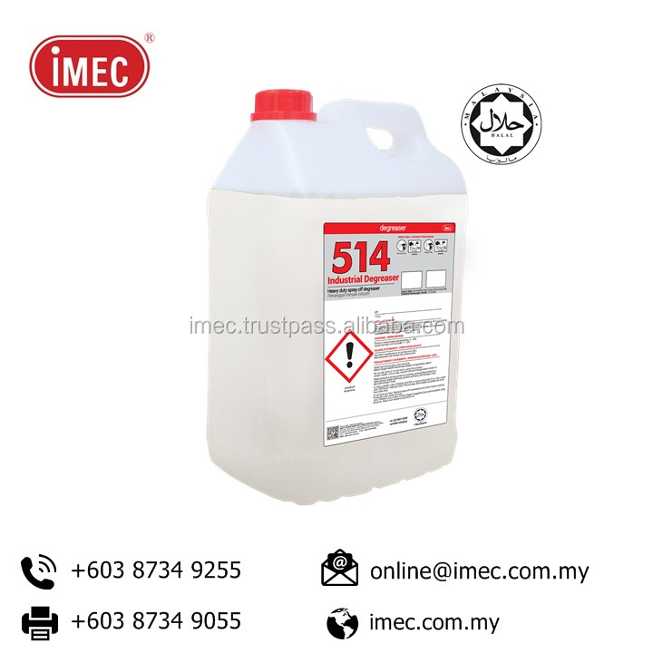 Manufacturing Price Halal Heavy Duty Degreaser, IMEC 514 Industrial Degreaser, Halal, 2 x 10L
