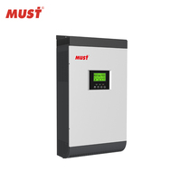 2019 < MUST POWER> < MUST SOLAR> 5kw 8kw 10kw 12kw Growatt Inverter Price for hybrid Solar Power System