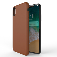 [ Manufactured in India ] Premium Luxurious Leather Back Case Cover for IPX - Brown