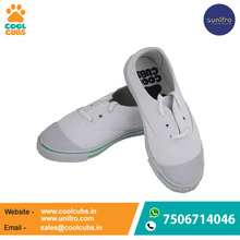 Wholesale girls white school shoes / school shoes for girls