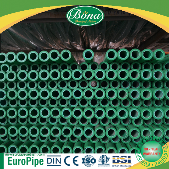 160mm x 14.6mm PPR Pipe and fitting 30 years guarantee export to Europe and Middle East plastic pipe fittings