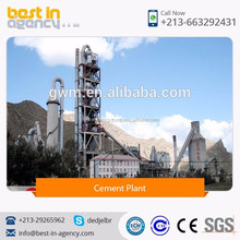 High Efficiency Low-Resistance Five Stage Cyclone Pre-Heater Cement Production Plant
