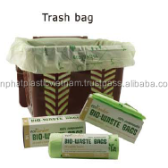 Compostable bag made from corn starch material bio bag