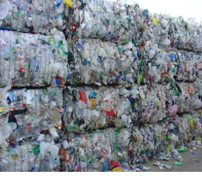 PE/PP MIX baled unwashed scraps recycled plastic scraps for sale