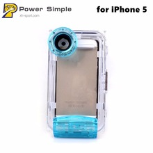 Underwater 40M 132ft Phone Case for iPhone 5S 5 Travel Transparent Pouch Diving Case