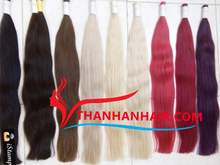Wholesale price!!! high quality double drawn colol bulk 100% human hair