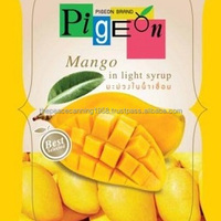 Canned Mango Fruit Slices In Syrup