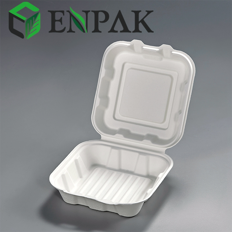 High quality disposable Clamshell takeaway food storage box