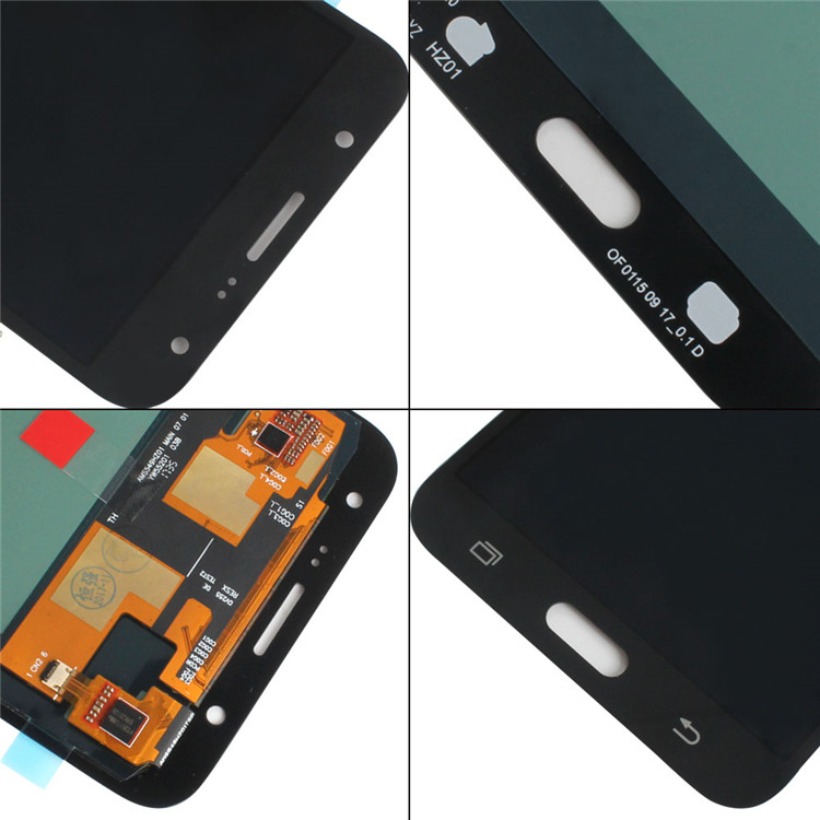 Adjustable pantalla LCD with frame for samsung galaxy J3 J4 J5 J6 J7 J8 LCD screen assembly