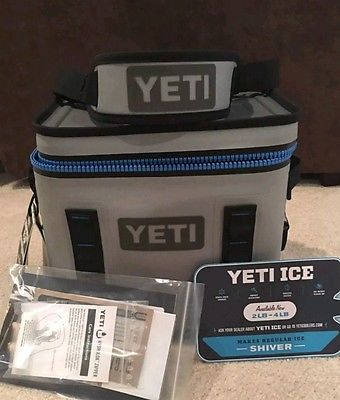 ALL NEW Yetys Hopper Flip 12 Soft-Sided Portable Cooler With Free T Shirt And Cap