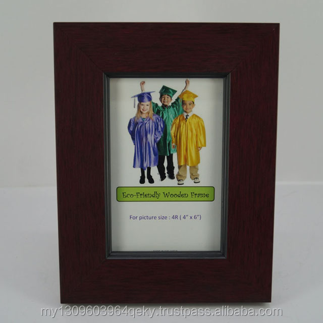 TOP QUALITY ECO FRIENDLY 4R WOOD PHOTO FRAME