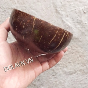 Bowl of coconut shell abalone shell eggs - wonderful 2017