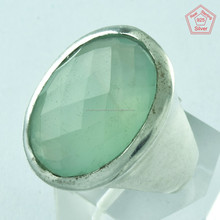 Attractive !! Chalcedony Natural Gemstone Jewelry Wholesaler Online Silver Jewelry Manufacturers 925 Sterling Silver