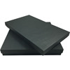Luxury Handmade Black Laminated Card-stock Paper Box For Invitations