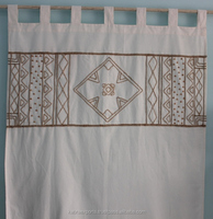 Cotton Jute Lace Wooden Beads Curtain