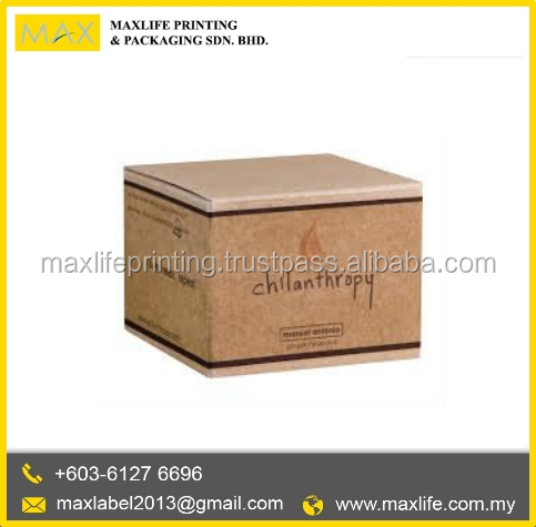 High Quality Malaysia Card Box Maker Customized Square Paper Box