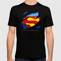 HOT SELLING SUPERMAN PRINTED T-SHIRT