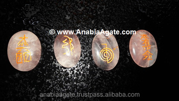 Rose Quartz Usai Reiki Set : Wholesale Reiki Set