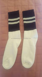 High Quality GAA Gaelic/Hurling Sports Socks White and Black Colors