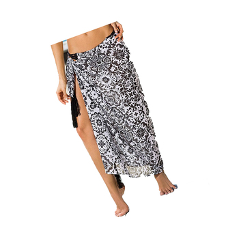 Women's wear beach wrap pareo indian