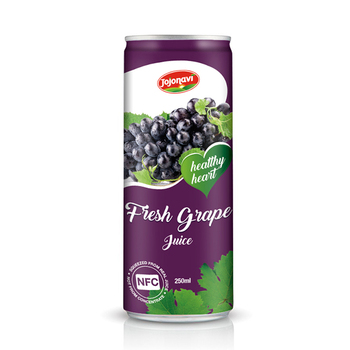 HACCP, FDA, HALAL, ISO Certification and Grape Juice Heart Healthy Natural fruit juice 250ml