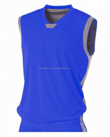 Latest team set design famous basketball uniforms jerseys cheap royal blue wholesale youth basketball jersey